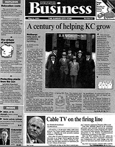 Kansas City Star article, May 9, 1993