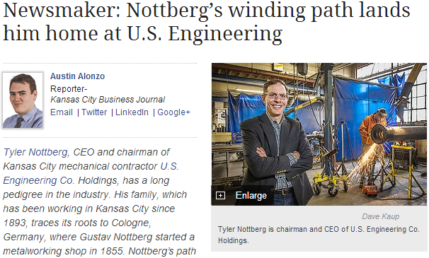 Nottberg in Kansas City Business Journal