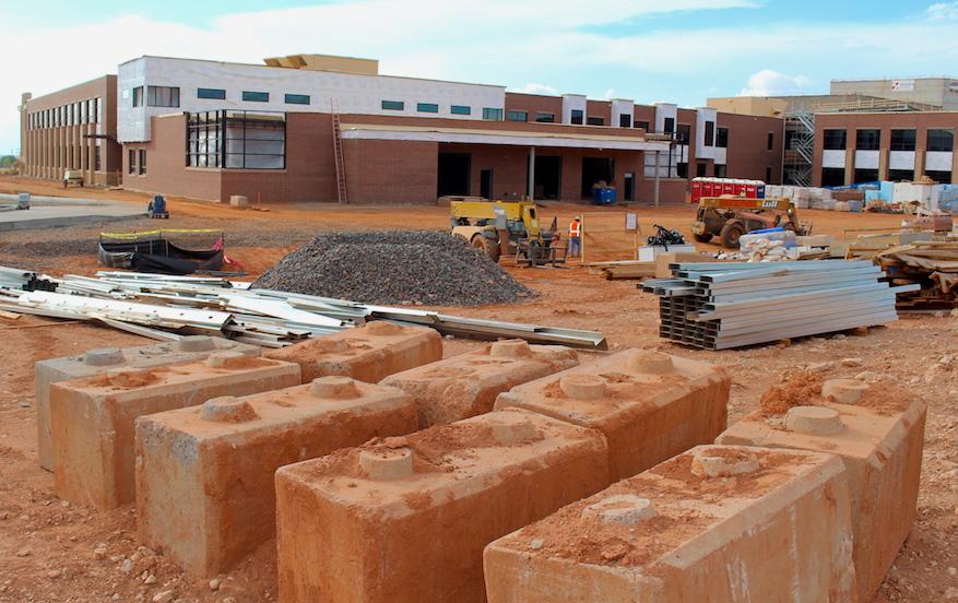 high school construction in Laramie Wyoming