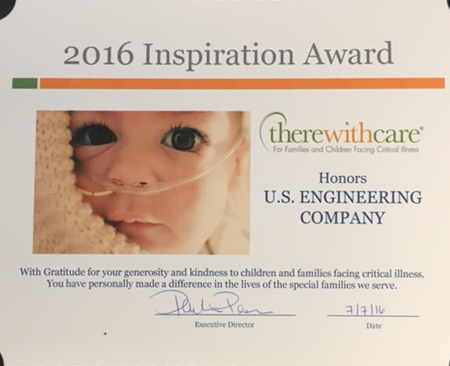inspiration award for charity Denver