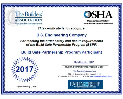 Build Safe Partnership Program