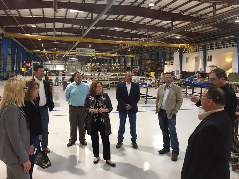 Kansas City Fed President Esther George visits Rocky Mountain Manufacturing Facility