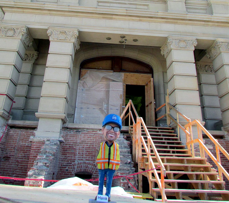 SafetyHank visited our Wyoming Capitol Square multi-year