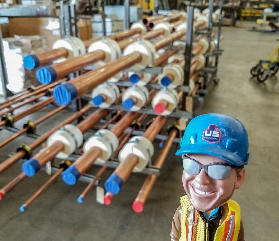 safetyhank inspects pipe headed to kc hotel u s engineering