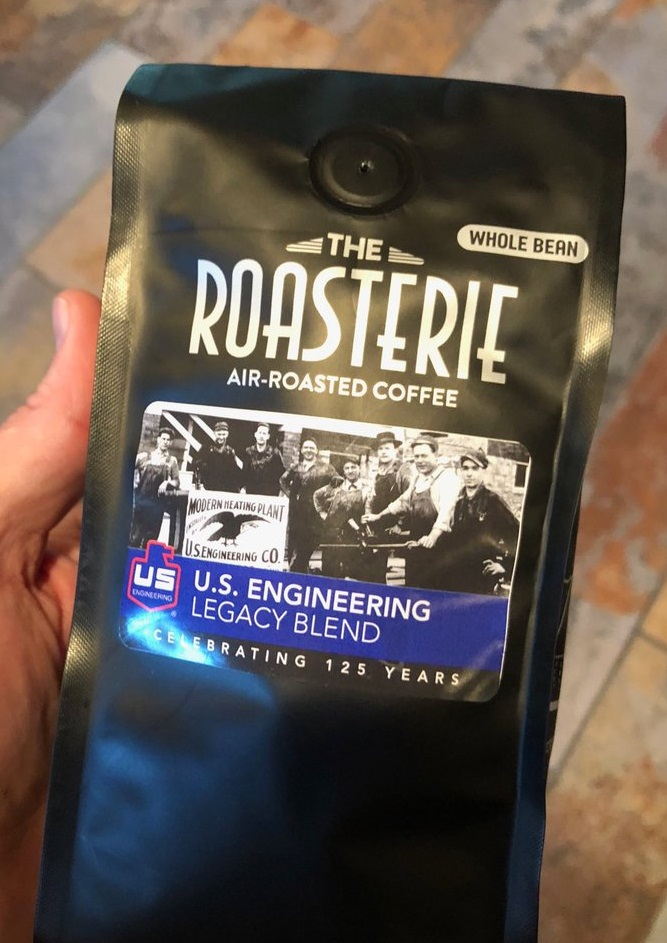 U.S. Engineering Legacy Blend Coffee celebrates 125 Yeas as a mechanical contractor