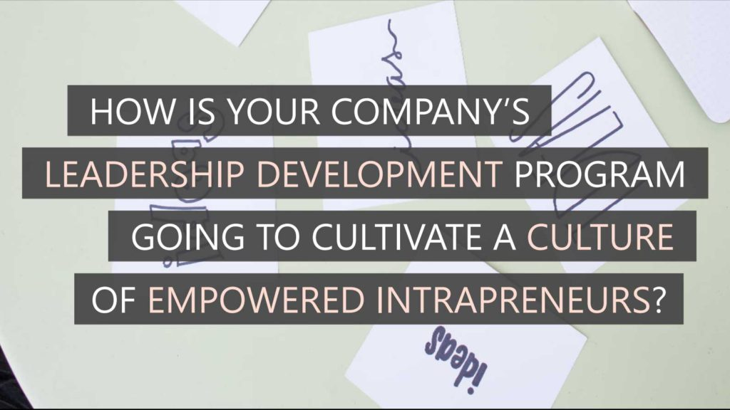 Leadership development empowers